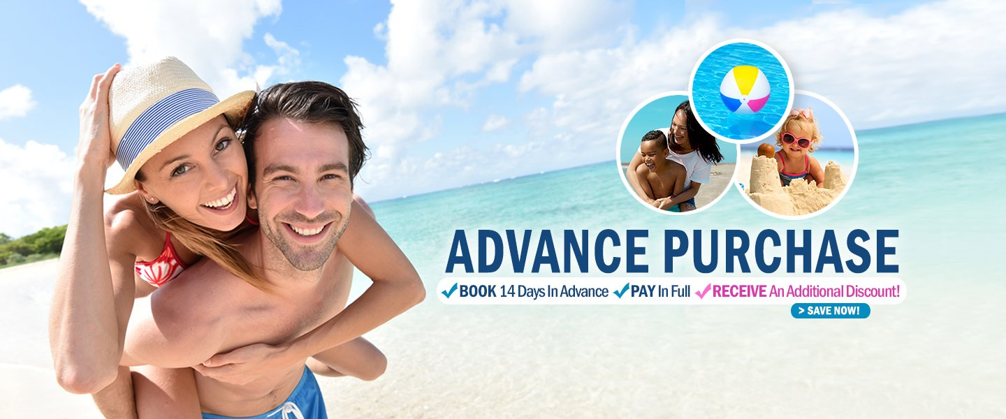 Advance purchase promo
