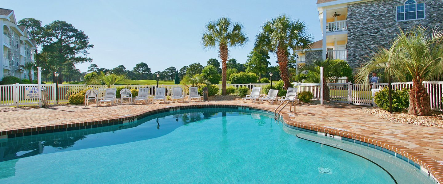 Outdoor Pool at Myrtlewood Villas