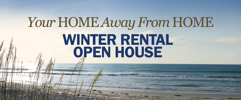 Winter Rental Open House