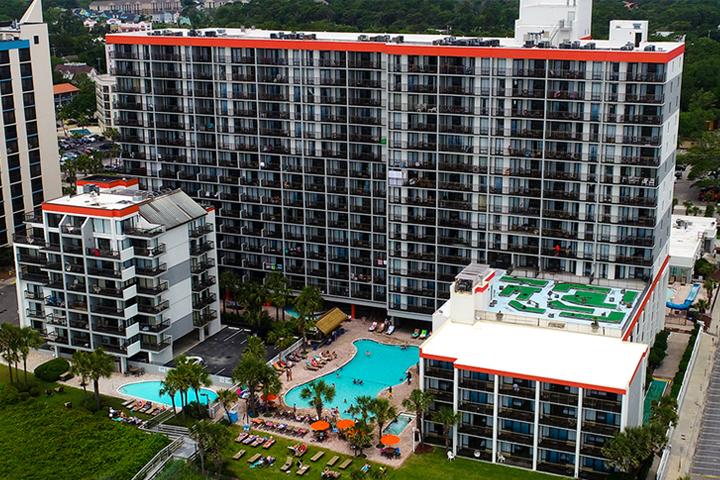 Grande Cayman Drone View