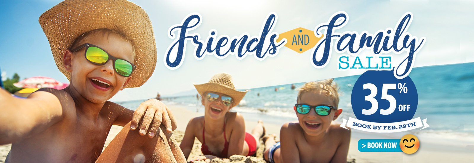 Friends and Family Sale - Save 35%