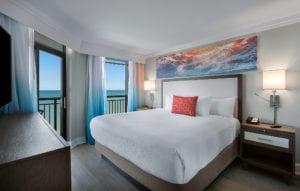Grande Cayman Oceanfront 3 Bedroom Condo Master Bedroom
