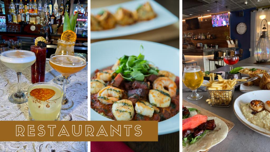 Restaurants Collage