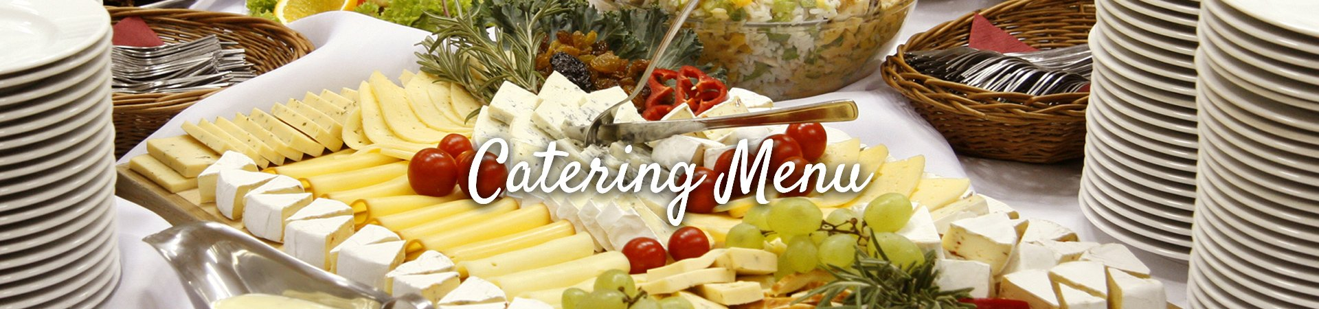 Group Sales - Catering Menu