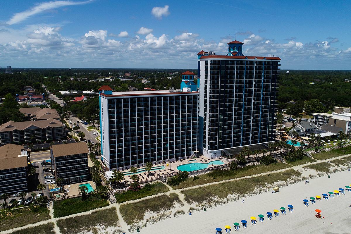 Caribbean Resort Exterior View