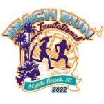 Beach Run Invitational Logo